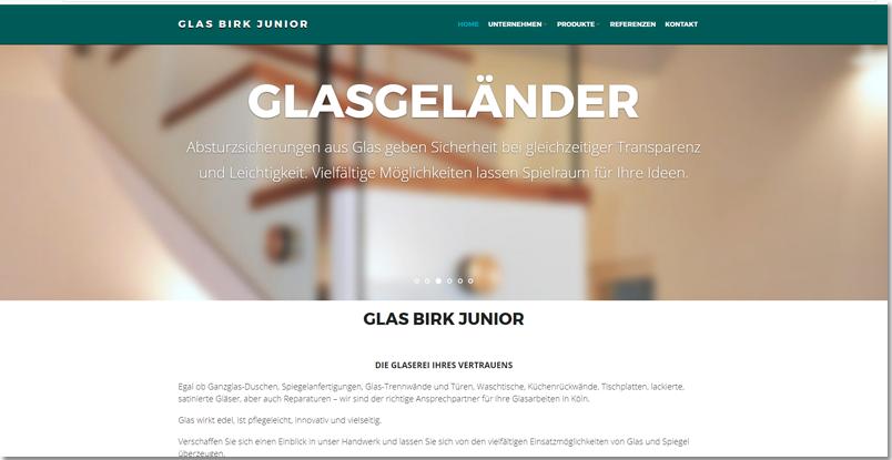 www.glasbirkjunior.de  Platz 1 bei Google